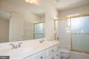 Dual Entry Hall Bath - 7705 RIDGEPARK CT, SPRINGFIELD