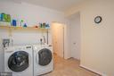 Laundry/Storage Room - 7705 RIDGEPARK CT, SPRINGFIELD