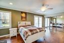 Spacious master bedroom - 111 CONFEDERATE CIR, LOCUST GROVE