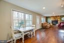 Open floor plan. View from kitchen - 111 CONFEDERATE CIR, LOCUST GROVE