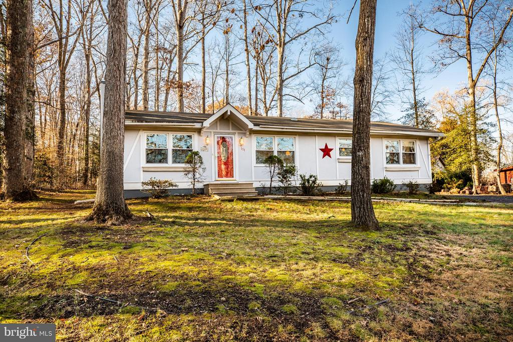 Charming home on partially wooded lot - 111 CONFEDERATE CIR, LOCUST GROVE