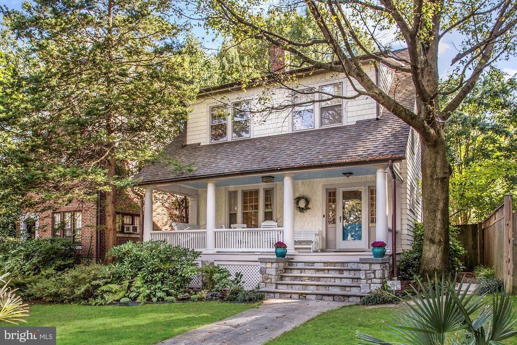Front yard - 3822 LIVINGSTON ST NW, WASHINGTON