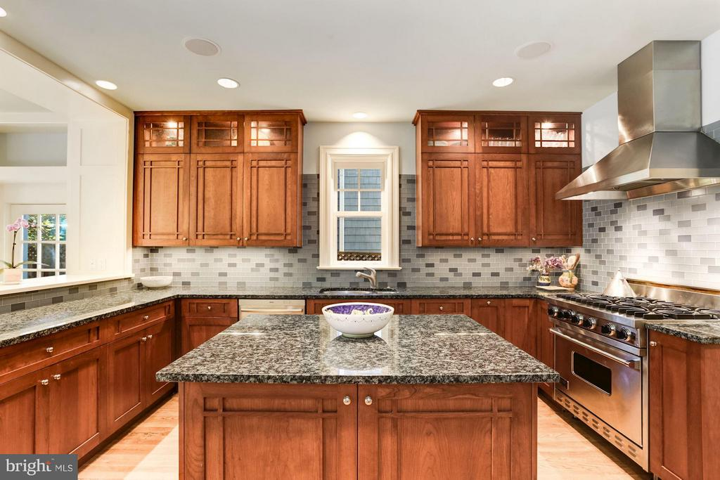 Updated Gourmet Kitchen - 3822 LIVINGSTON ST NW, WASHINGTON