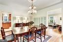 Formal Dining Room - 3822 LIVINGSTON ST NW, WASHINGTON