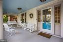 Front porch - 3822 LIVINGSTON ST NW, WASHINGTON
