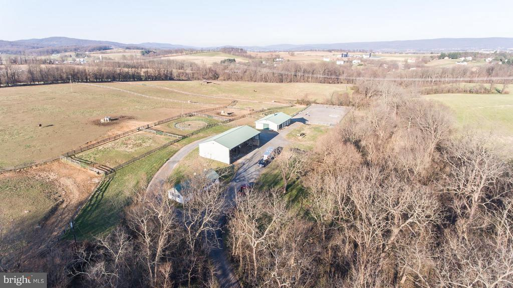 Aerial View - 2200 QUEBEC SCHOOL RD, MIDDLETOWN