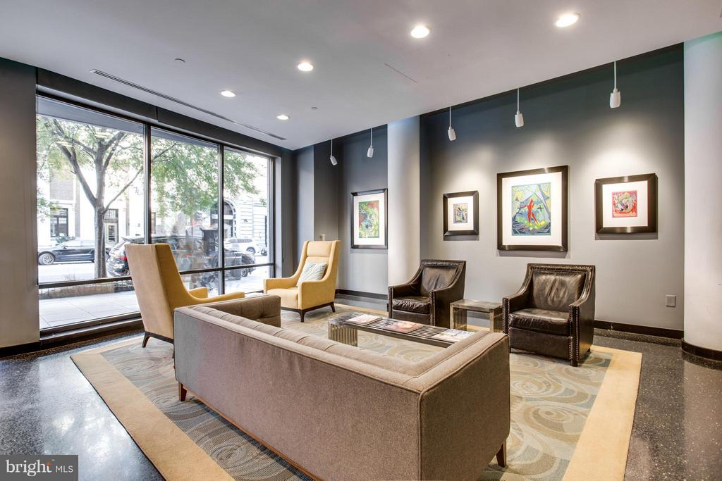 Lobby in the building - 912 F ST NW #706, WASHINGTON