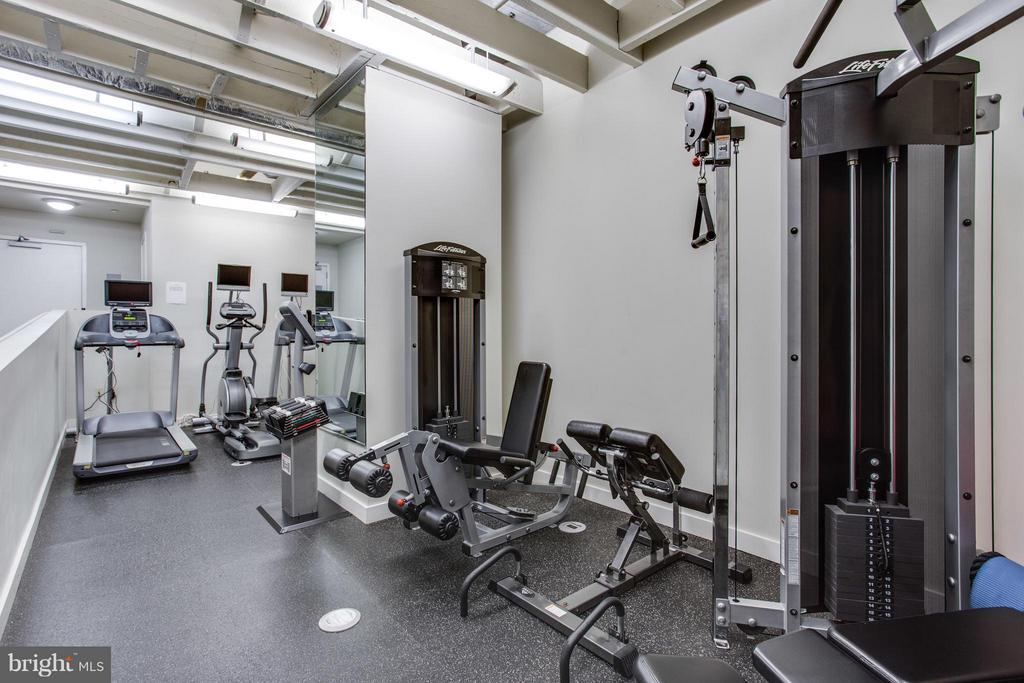 Gym in the building. - 912 F ST NW #706, WASHINGTON