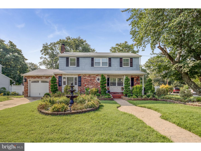 Частный односемейный дом для того Продажа на 5305 WALTON Avenue Pennsauken, Нью-Джерси 08109 Соединенные Штаты