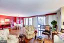 Bright & Sunny Living Room/Dining Room - 4200 MASSACHUSETTS AVE NW #120, WASHINGTON