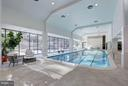 Spectacular Indoor Pool Overlooking Outdoor Pool - 4200 MASSACHUSETTS AVE NW #120, WASHINGTON