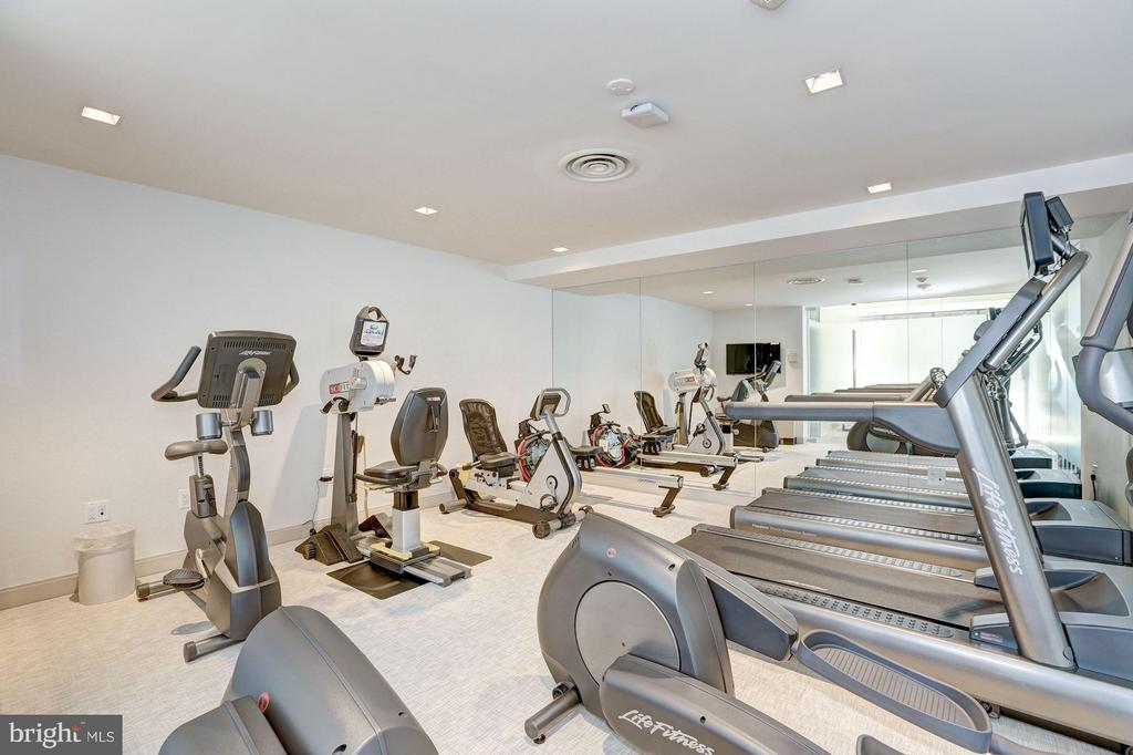 Renovated Exercise Room - 4200 MASSACHUSETTS AVE NW #120, WASHINGTON