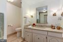 Marble Master Bathroom - 4200 MASSACHUSETTS AVE NW #120, WASHINGTON