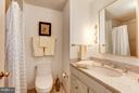 En Suite Full Bathroom - 4200 MASSACHUSETTS AVE NW #120, WASHINGTON