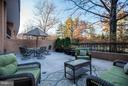 Private Outdoor Entertaining Area - 4200 MASSACHUSETTS AVE NW #120, WASHINGTON