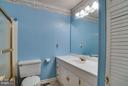 Full hall bathroom to serve the other 2 bedrooms - 3327 SOMERSET LN, FREDERICKSBURG