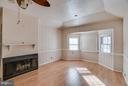 Curl up in front of your cozy fireplace - 3327 SOMERSET LN, FREDERICKSBURG