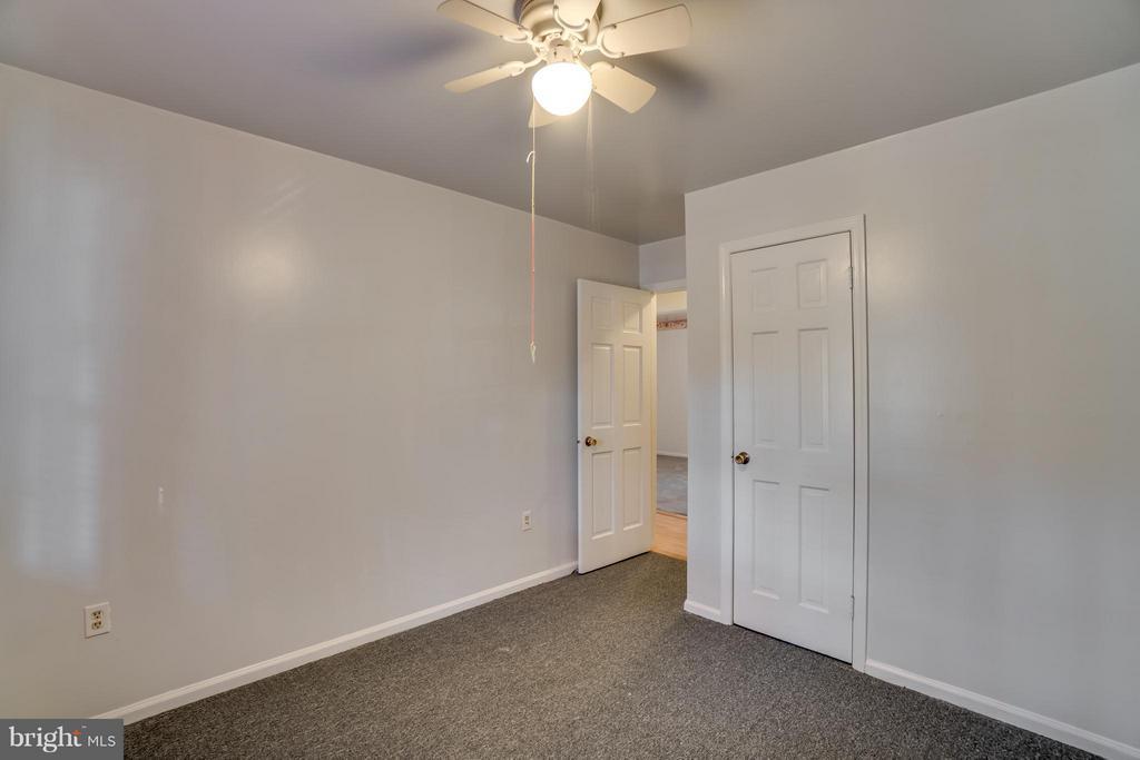 Each bedroom has its own ceiling fan - 3327 SOMERSET LN, FREDERICKSBURG