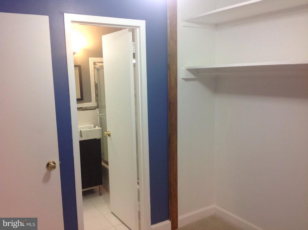 Bedroom to bath and closet - 1021 ARLINGTON BLVD #801, ARLINGTON