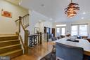 Stairs up to 3rd floor- 2 bedrooms, both on-suite - 335 I ST SE, WASHINGTON