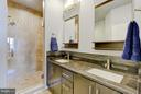Separate Shower with seating, double-sink vanity - 335 I ST SE, WASHINGTON
