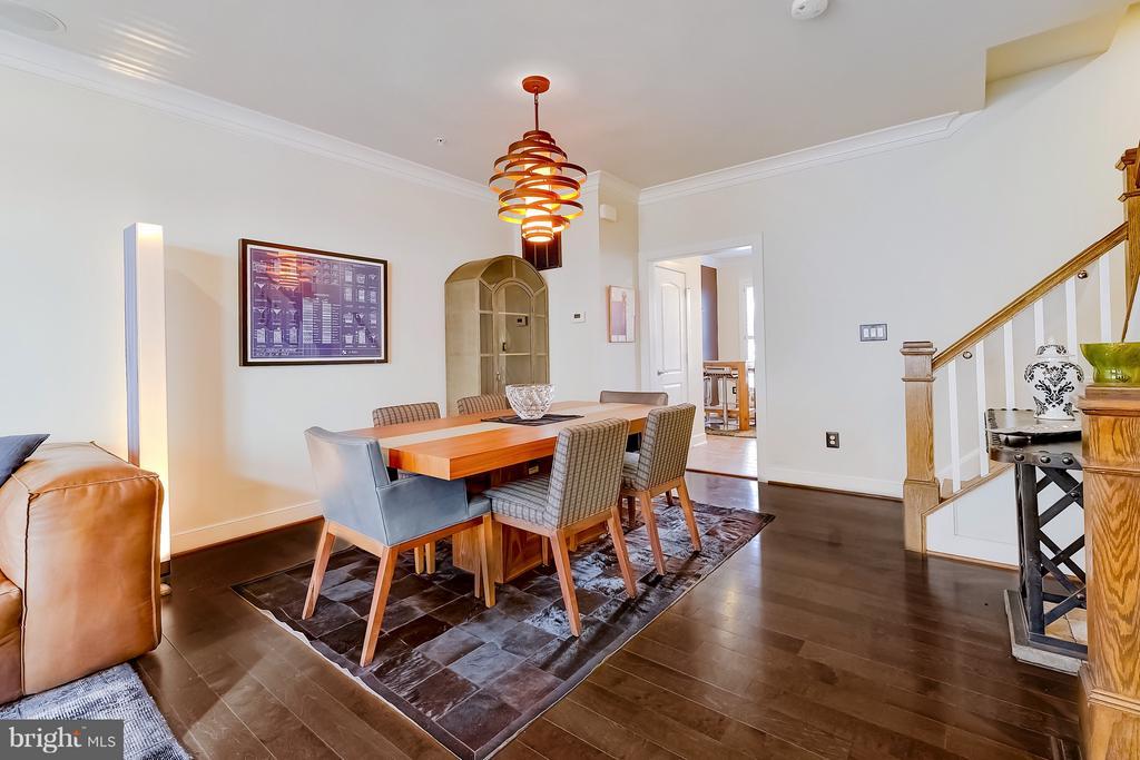 Dining area with plenty of room for gatherings - 335 I ST SE, WASHINGTON