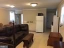 Family Room in the guest cottage - 2200 QUEBEC SCHOOL RD, MIDDLETOWN