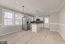 Dining and Kitchen - 3620 SUITLAND RD SE, WASHINGTON