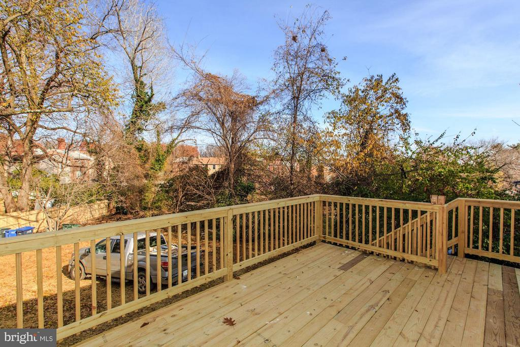 Rear Deck - 3620 SUITLAND RD SE, WASHINGTON
