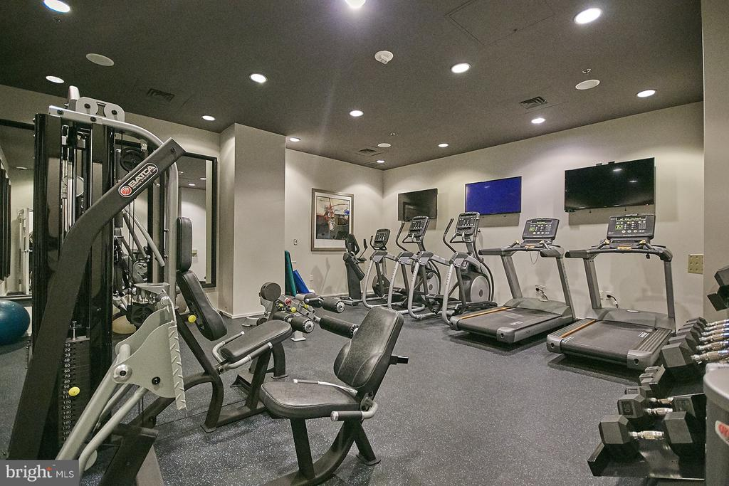 Fitness Center - 3409 WILSON BLVD #801, ARLINGTON