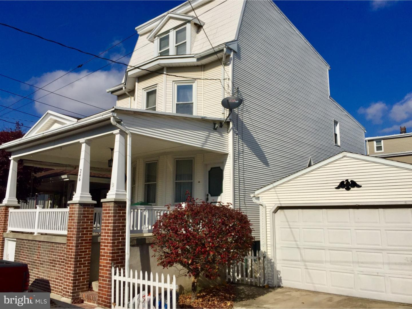 Single Family Home for Sale at 246 NORTH Street Minersville, Pennsylvania 17954 United States