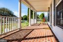 Beautiful Wide Brick Front Porch - 12601 VENTURA LN, FREDERICKSBURG