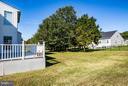 Back Yard - 12601 VENTURA LN, FREDERICKSBURG
