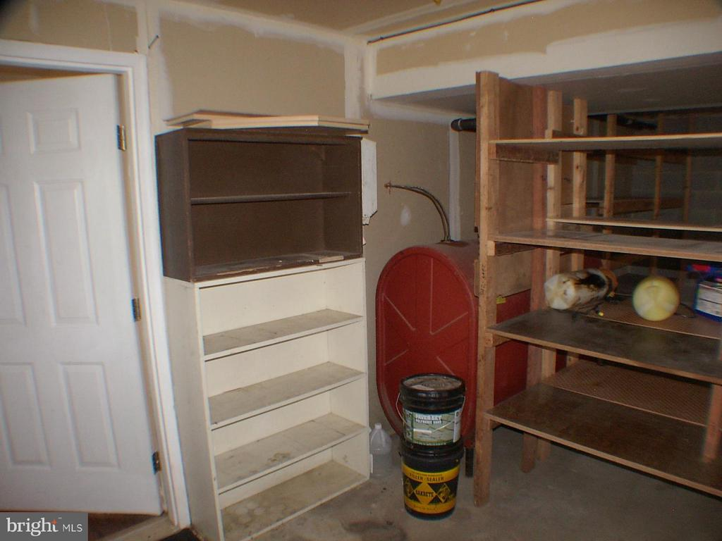 Double car garage storage shelves - 1919 WITHERS LARUE RD., BERRYVILLE