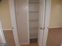 Main hallway linen closet - 1919 WITHERS LARUE RD., BERRYVILLE