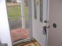Front door - 1919 WITHERS LARUE RD., BERRYVILLE