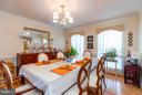 Formal Dining Room - 11600 HERONVIEW DR, FREDERICKSBURG
