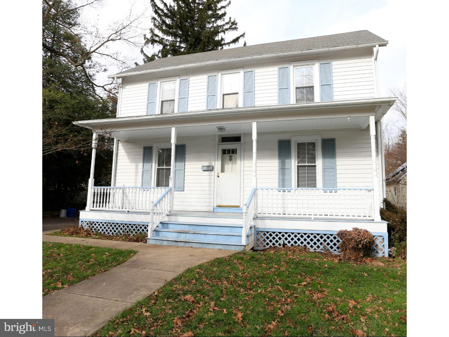 Single Family Home for Sale at 72 W BROAD Street Hopewell, New Jersey 08525 United StatesMunicipality: Hopewell Borough