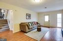 Easy to clean floors in family room. - 6213 GARRETSON ST, BURKE