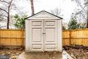 The shed conveys! - 6213 GARRETSON ST, BURKE