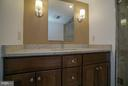 Stunning remodeled bathroom - 1200 BRADDOCK PL #705, ALEXANDRIA