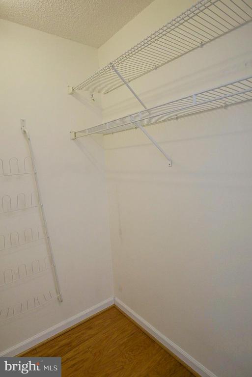 Master walk-in closet - 1200 BRADDOCK PL #705, ALEXANDRIA