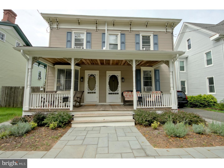 Duplex for Sale at 116-118 S MAIN Street Pennington, New Jersey 08534 United StatesMunicipality: Pennington Borough