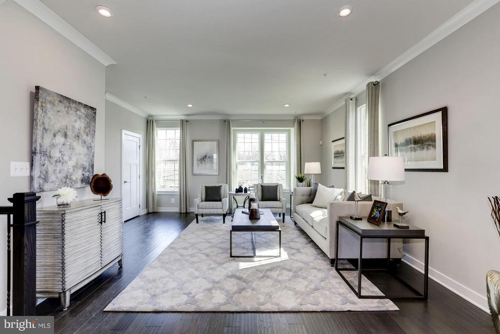 Living Room - 5931 TOMAHAWK ST, NEW MARKET