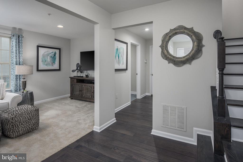 Basement Rec Room & stairs leading to main level - 5917 PECKING STONE STREET, NEW MARKET