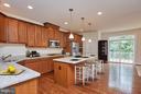 Gourmet kitchen w/stainless steel appliances - 16636 DANRIDGE MANOR DR, WOODBRIDGE