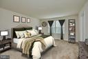 Master bedroom - 16636 DANRIDGE MANOR DR, WOODBRIDGE