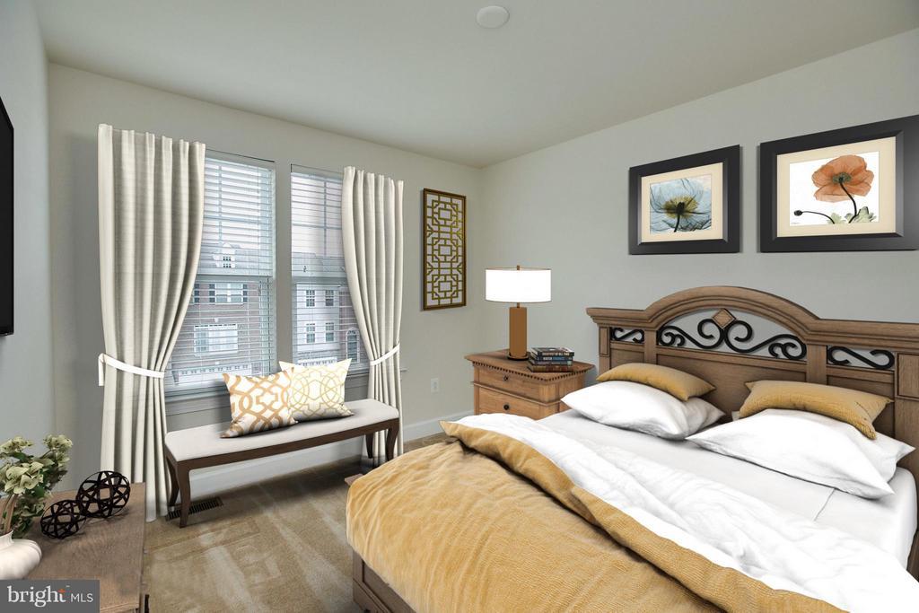 Bedroom #2 - 16636 DANRIDGE MANOR DR, WOODBRIDGE