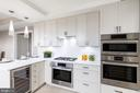 Luxurious kitchen - 8302 WOODMONT AVE #601, BETHESDA