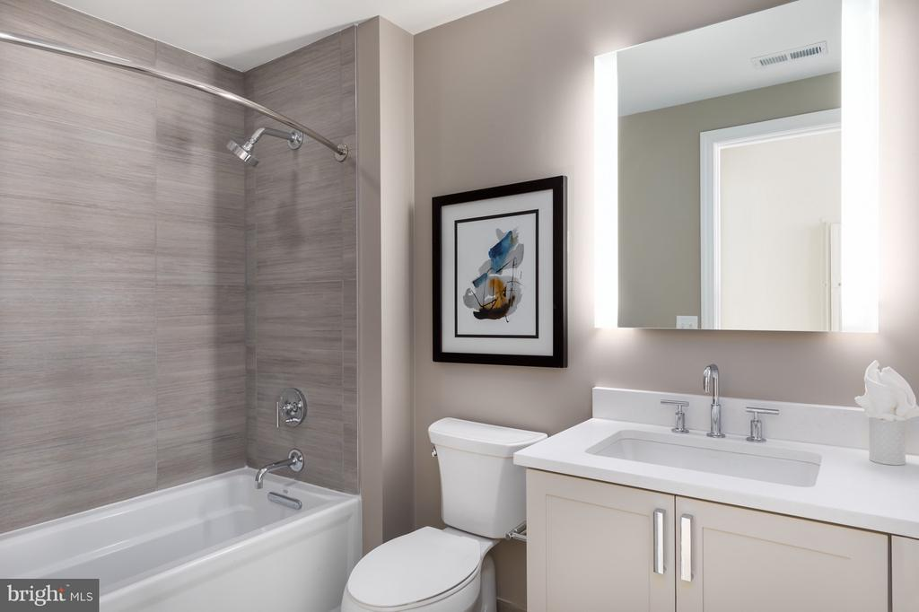 2nd full bathroom - 8302 WOODMONT AVE #601, BETHESDA